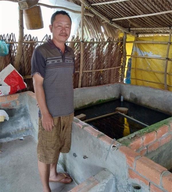 Anh Nam chia sẻ về cơ duyên đến với nghề nuôi lươn không bùn.