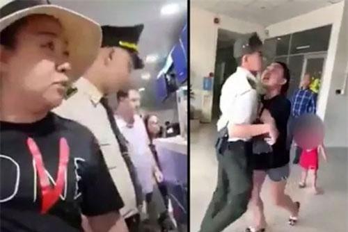 Đề xuất cấm bay nữ công an gây rối tại sân bay Tân Sơn Nhất