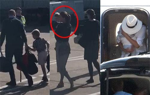"""Gia đình Công nương Kate dắt tay nhau đi máy bay giá rẻ: """"Đòn đánh trả"""" sâu cay lên nhà Meghan Markle khi 4 lần dùng chuyên cơ sang chảnh"""