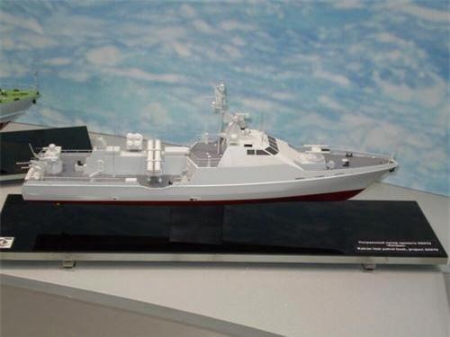 Một cấu hình khác của tàu tên lửa tấn công nhanh lớp Catran - Dự án 20970. Ảnh: Naval Today.