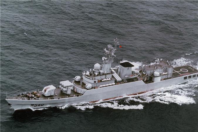 Tàu hộ vệ Type 053H2G. Ảnh: Wikipedia