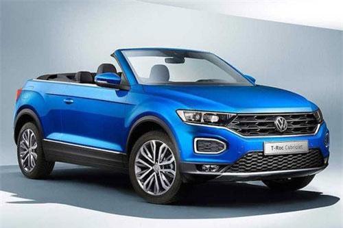 """Volkswagen """"nhá hàng"""" SUV mui trần T-Roc Cabriolet mới"""