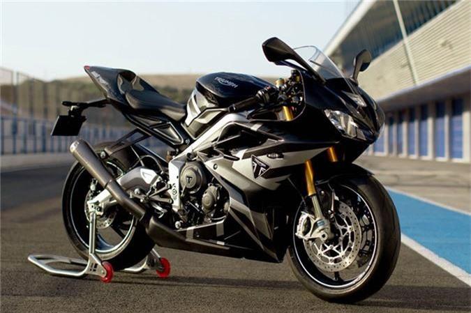Chi tiet sportbike Triumph cong suat 128 ma luc, gioi han 765 chiec hinh anh 1