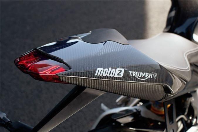 Chi tiet sportbike Triumph cong suat 128 ma luc, gioi han 765 chiec hinh anh 4