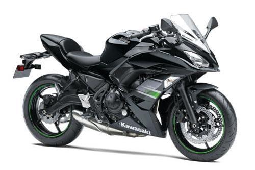 2. Kawasaki Ninja 650 2019 (giá: 7.399 euro).