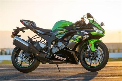 Kawasaki Ninja ZX-6R 2019 giá: 11.799 euro.