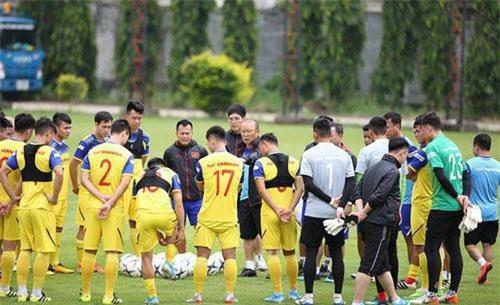 Đội tuyển Việt Nam gần như đã sẵn sàng cho trận đấu với Thái Lan (ảnh: Huyền Trang)