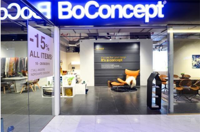 BoConcept thương hiệu nội thất Đan Mạch với hơn 310 showroom trên thế giới
