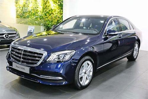 Bảng giá xe Mercedes-Benz tháng 9/2019