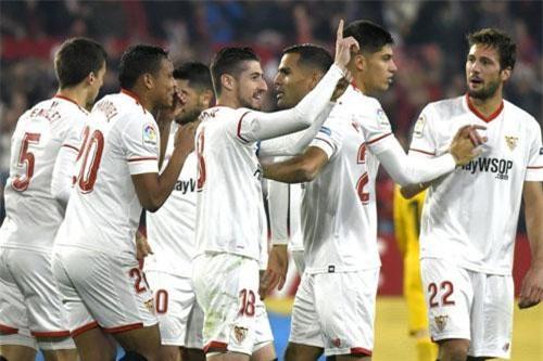 7. Sevilla (tổng số tiền mua sắm: 158 triệu euro).