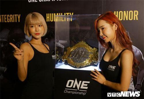 Sự kiện ONE Championship diễn ra ngày 6/9 tới sẽ có sự góp mặt của dàn Ring Girl nóng bỏng nhất châu Á.