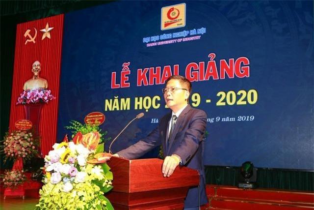 Bộ trưởng Bộ Công thương Trần Tuấn Anh đã tới dự và phát biểu chỉ đạo tại buổi lễ.
