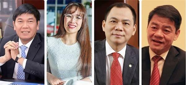 Những doanh nghiệp tỷ đô Việt Nam ghi danh Forbes Asia.