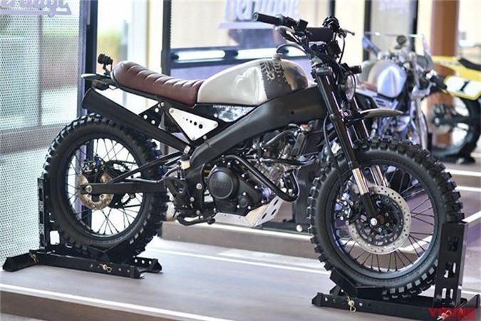 """Ngam Yamaha XSR155 do 3 phong cach """"hut hon"""" nguoi yeu xe-Hinh-4"""
