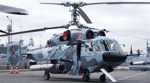 Trực thăng vũ trang Ka-29TB. Ảnh: Naval Today.