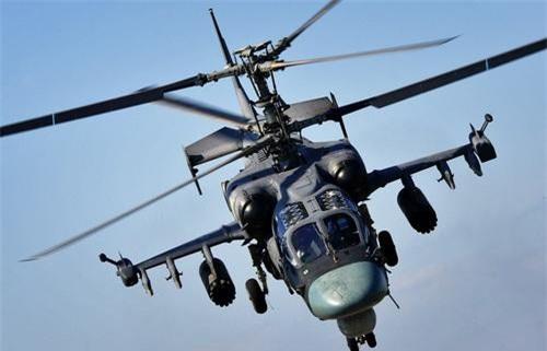 Trực thăng vũ trang Ka-52K Katran. Ảnh: Military Today.