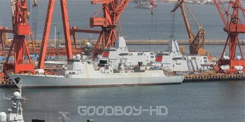Khu trục hạm Type 055 của Hải quân Trung Quốc. Ảnh: China Defence.