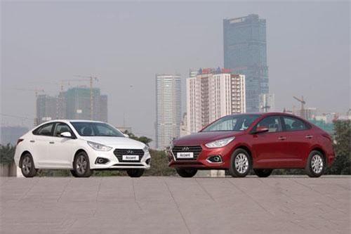 4. Hyundai Accent (doanh số: 1.252 chiếc).