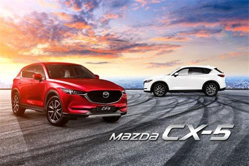 Mazda CX-5.