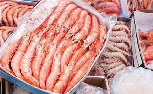 Tôm xuất khẩu của Việt Nam.
