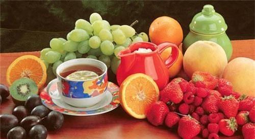 Trà và nhiều loại rau quả chứa các hợp chất tương tự trong thuốc chống ung thư - (ảnh minh họa từ internet).