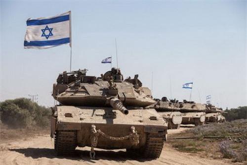 Xe tăng chiến đấu chủ lực Merkava IV của Quân đội Israel. Ảnh: South Front.