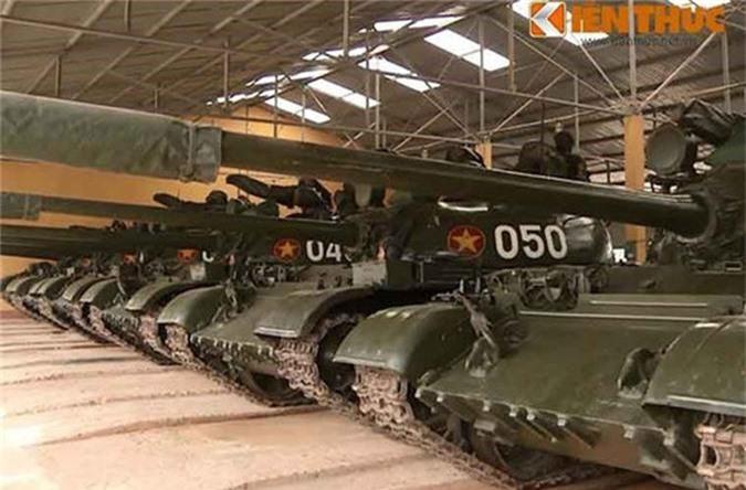 Chi tiet he thong ngam moi tren xe tang T-54M Viet Nam nang cap-Hinh-10