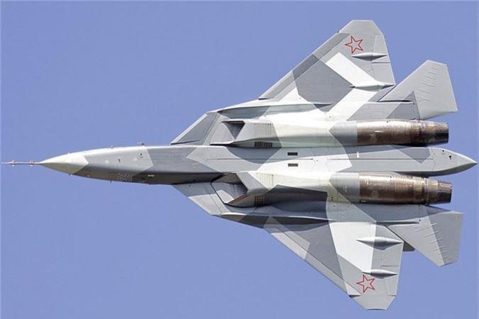 Thich thu truoc doi hinh Su-57 cung 2 sieu co bi an tai MAKS 2019-Hinh-2