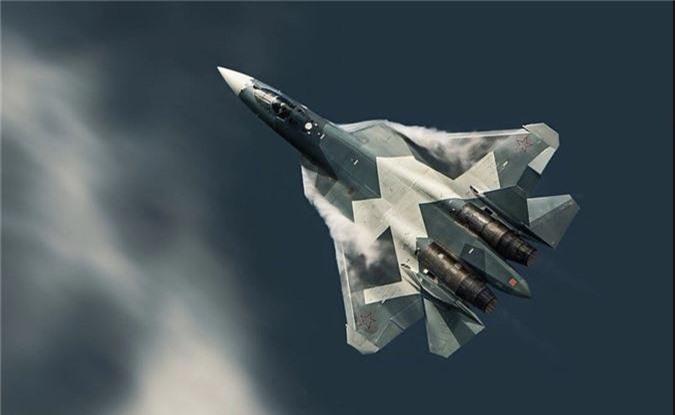 Thich thu truoc doi hinh Su-57 cung 2 sieu co bi an tai MAKS 2019-Hinh-3
