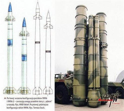 Xe manng phóng tự hành của S-400 mang đạn đánh chặn 9M96 kèm theo 48N6. Ảnh: China Defence.