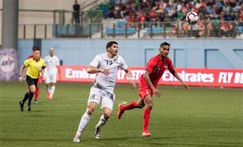 Các đội tuyển Đông Nam Á thi đấu như thế nào tại vòng loại World Cup 2022? - 1 Singapore bất ngờ đánh bại Palestine 2-1 khi được thi đấu trên sân nhà