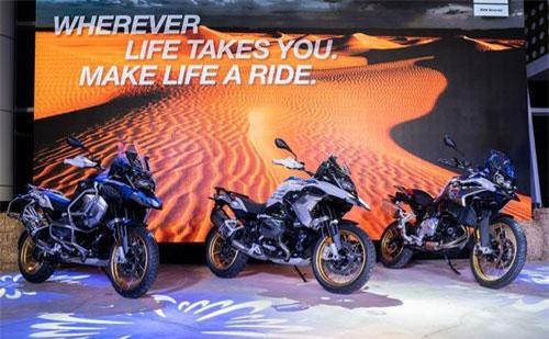 BMW Motorrad ra mắt liền ba mẫu Adventure tại Việt Nam