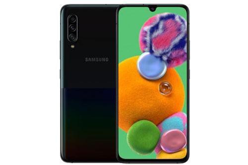 Sức mạnh phần cứng của Samsung Galaxy A90 5G đến từ vi xử lý Qualcomm Snapdragon 855 lõi 8 với xung nhịp tối đa 2,84 GHz, GPU Adreno 640. RAM 6/8 GB, bộ nhớ trong 128 GB, có khay cắm thẻ microSD với dung lượng tối đa 512 GB (chỉ với phiên bản RAM 6 GB). Hệ điều hành Android 9.0 Pie, được tùy biến trên giao diện người dùng One UI.