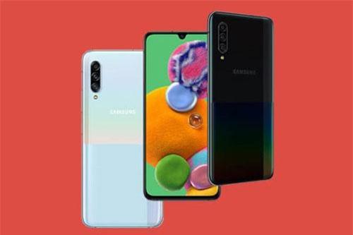 Samsung Galaxy A90 5G đem đến cho khách hàng 2 tùy chọn màu sắc là trắng và đen. Giá bán của máy tại thị trường Hàn Quốc từ 899.800 won (tương đương 17,13 triệu đồng).