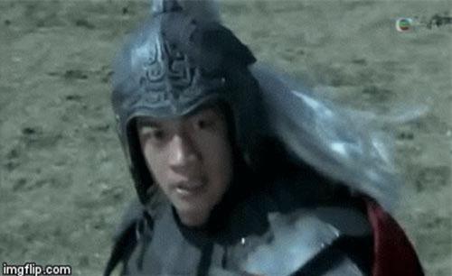 Cảnh trong phim Tam quốc diễn nghĩa 2010.