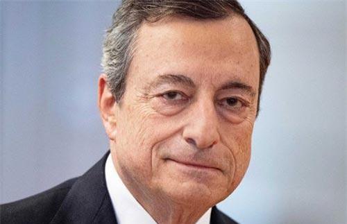 Chủ tịch Ngân hàng Trung ương châu Âu (ECB) Mario Draghi - Ảnh: Reuters.