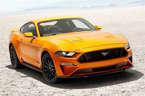 Ford Mustang (doanh số: 52.406 chiếc).