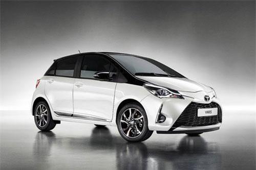 2. Toyota Yaris (doanh số: 226.512 chiếc).