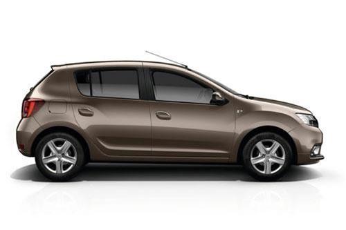 8. Dacia Sandero (doanh số: 134.142 chiếc).