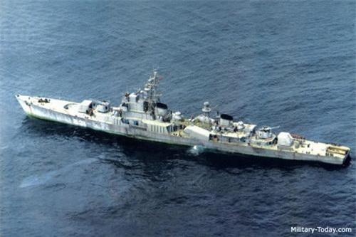 Khám phá sức mạnh chiến hạm lớn nhất của Hải quân Triều Tiên