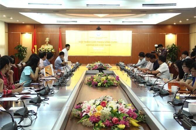 Cục Báo chí tổ chức Hội thảo giới thiệu ứng dụng Appnews Việt Nam.