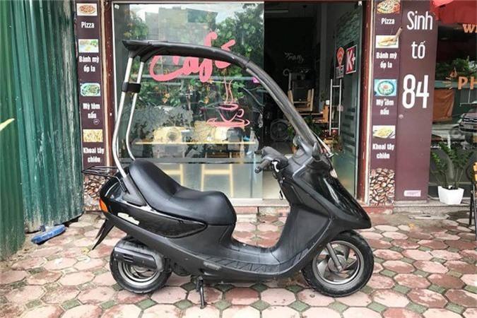 Xe tay ga Honda di mua khong so uot da tai Ha Noi-Hinh-2