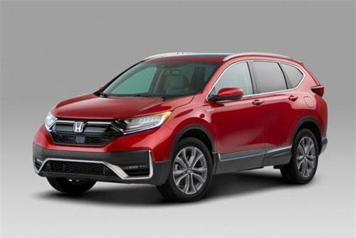 Cận cảnh Honda CR-V 2020 vừa trình làng