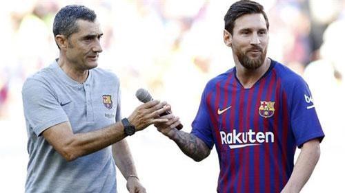 Messi muốn 'thánh dự' Asian Cup 2019 lên thay HLV Valverde