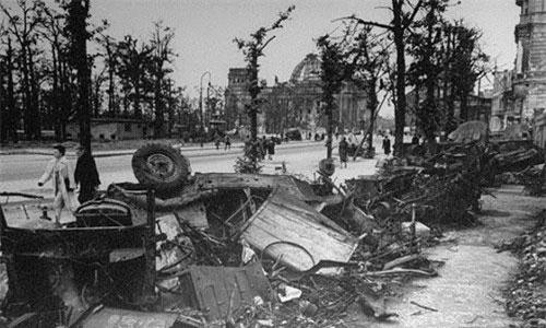 Ám ảnh diện mạo thủ đô Berlin sau chiến tranh thế giới thứ hai