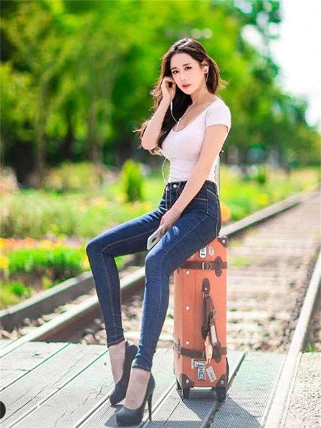 """mac jean 3 co gai han cung khoe duoc duong cong """"than thanh"""" hinh anh 7"""
