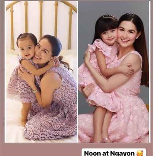 """Vẫn biết con gái """"mỹ nhân đẹp nhất Philippines"""" xinh như thiên thần nhưng không ngờ sự thay đổi từ bé đến lớn lại nhiều thế này - Ảnh 2."""
