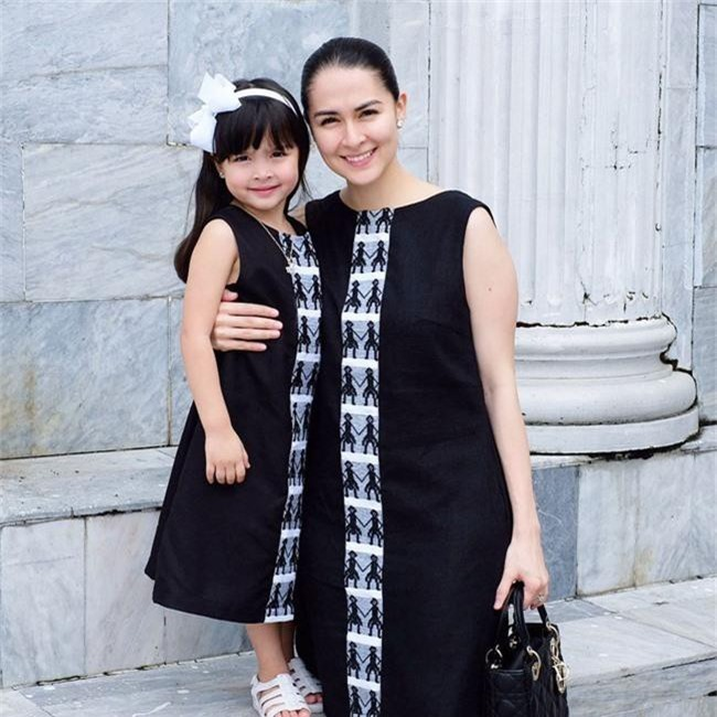 """Vẫn biết con gái """"mỹ nhân đẹp nhất Philippines"""" xinh như thiên thần nhưng không ngờ sự thay đổi từ bé đến lớn lại nhiều thế này - Ảnh 4."""