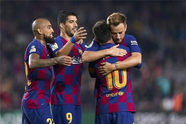 Lịch thi đấu, BXH vòng 12 La Liga: Levante - Barcelona, Real Madrid - Real Betis... - Ảnh 2.