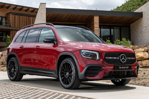 10. Mercedes-Benz GLB 2020 (giá khởi điểm: 38.600 USD).